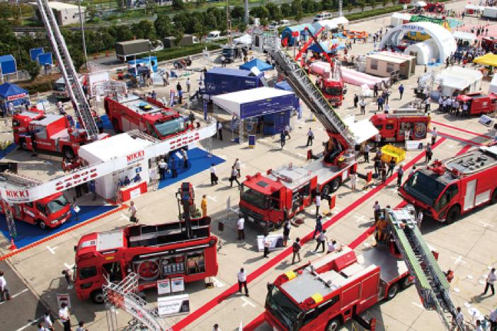 東京国際消防防災展2013年の様子