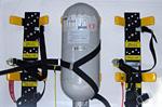 空気呼吸器取付装置