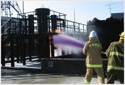 火災に応じた様々な消火戦術に対応