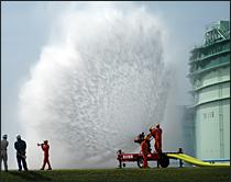 大容量泡放水砲システムー基本構成