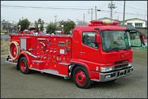 大型化学消防車
